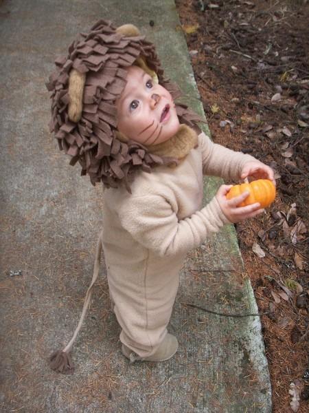 Lion Halloween Kids Costume For Boys Or Girls, Toddler Costume