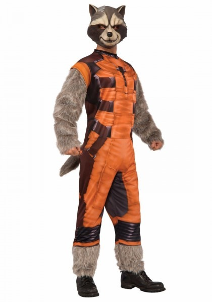 Rocket Raccoon Guardians Of The Galaxy Gotg Deluxe Adult Standard