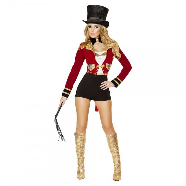 Ringmaster Costume Womens Adult Sexy Ringleader Halloween Circus