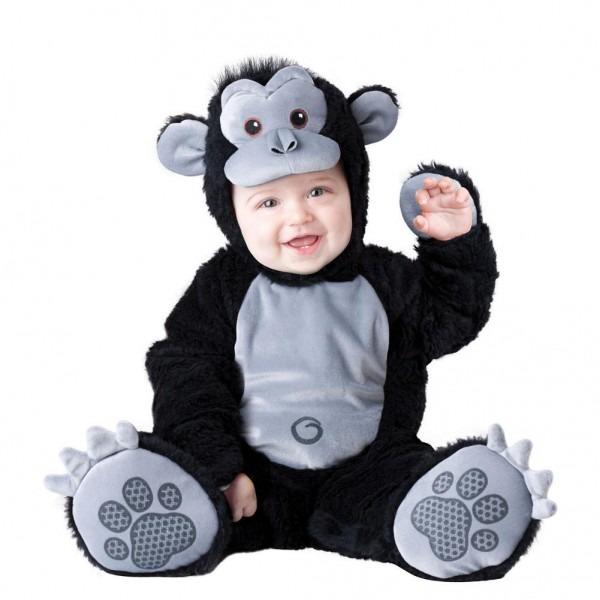 Boo Infant Boys & Girls Plush Black Goofy Gorilla Costume Monkey