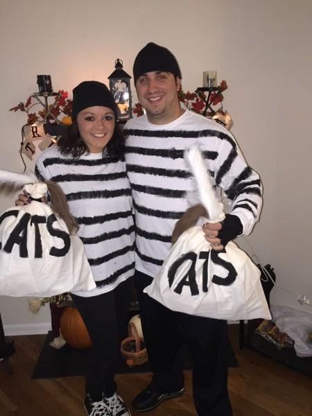 Couples Halloween Costume Idea  Cat Burglars! Get It ! Old School