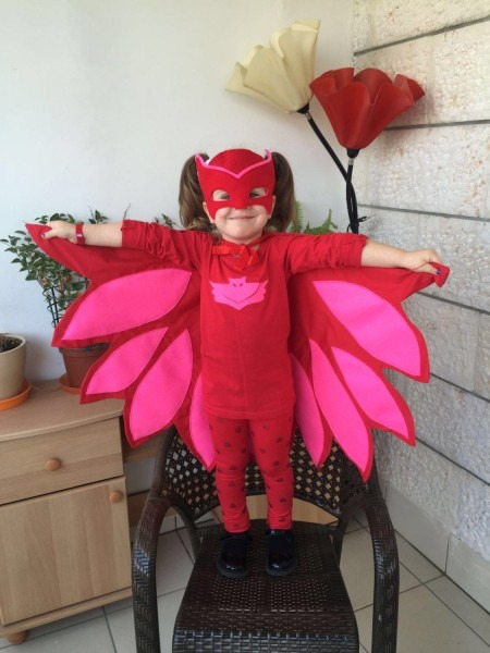Owlette Costume Mask  Inspired By Pj Masks Super Heroes Costume