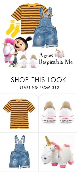 Agnes From Despicable Me Costume  By Mejfun On Polyvore Featuring