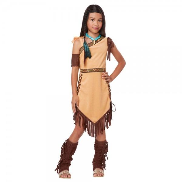 Girls Native American Indian Princess Halloween Costume