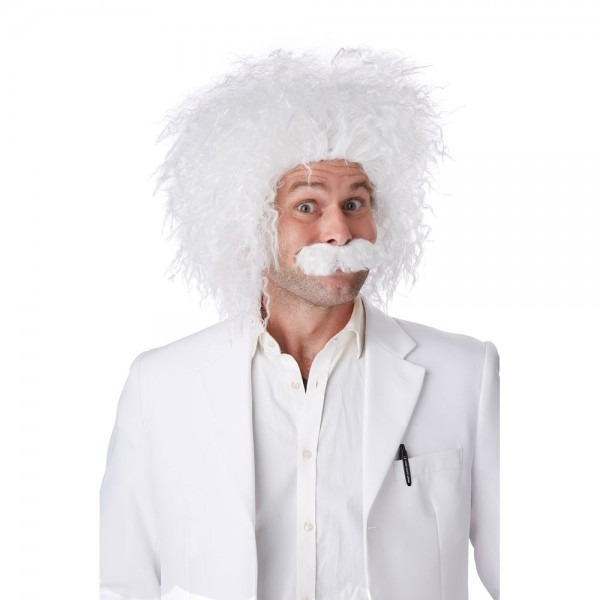 Einstein Halloween Wig And Moustache 19519091867