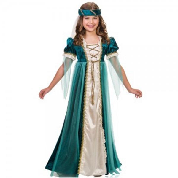 Girls Emerald Juliet Halloween Costume