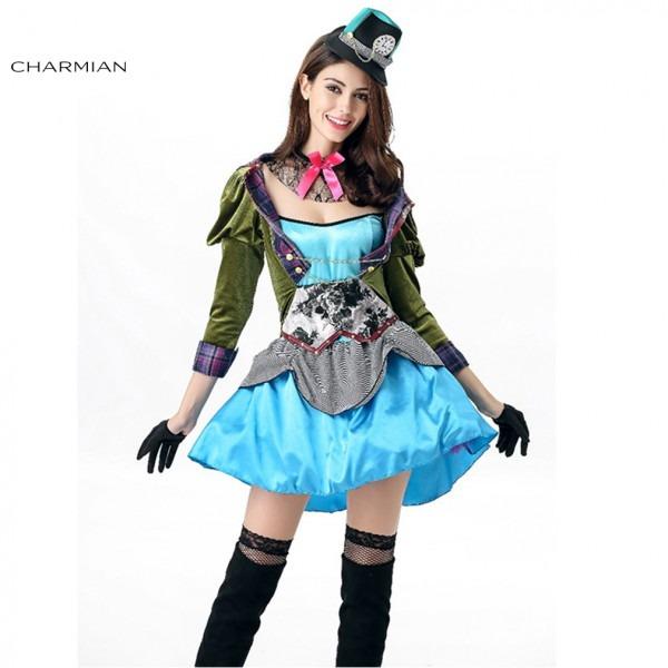 Charmian Mad Hatter Halloween Costume In Wonderland For Women