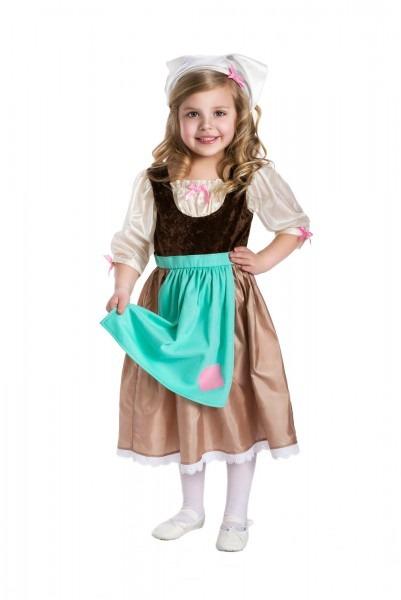 Cinderella's Rag Work Dress With Hairpiece
