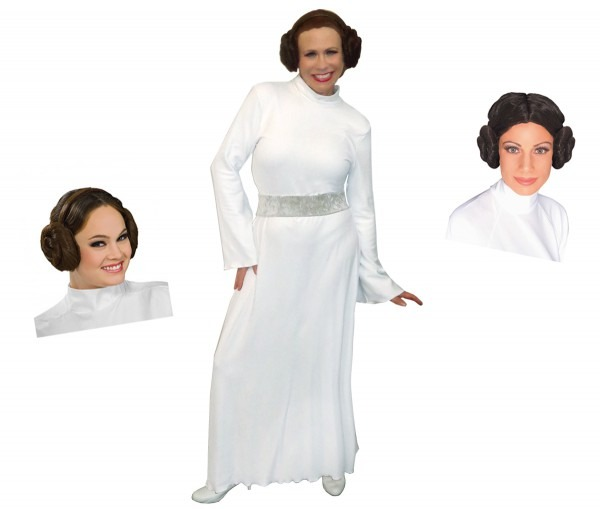 Final Clearance Sale! Star Wars Princess Leia Plus Size And