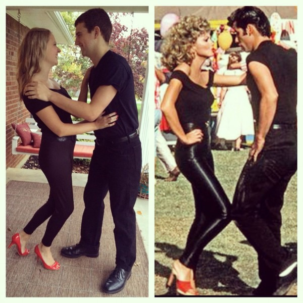 Couples Halloween Costumedanny And Sandy From Grease, Grease