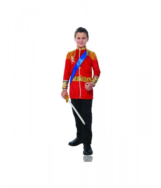 Courageous Prince Charming Boys Costume