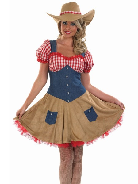 Adult Sexy Cowgirl Costume