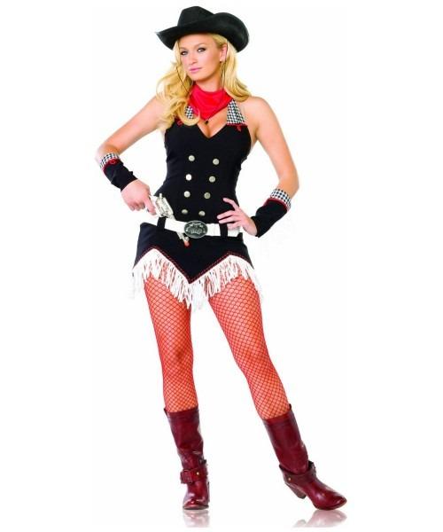 Adult Shoot Em Up Cowgirl Costume