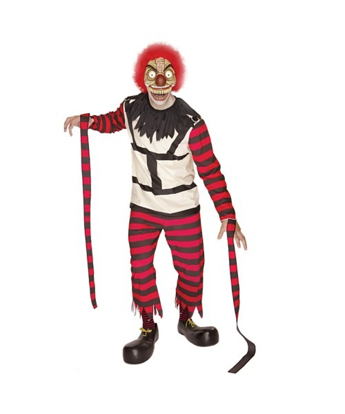 Adult Crazy The Clown Funny Costume