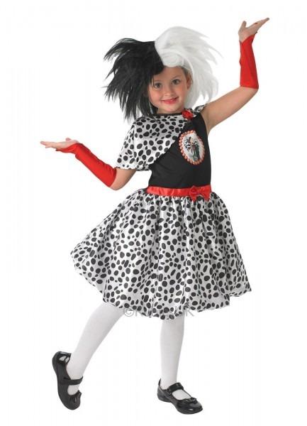 Disney Cruella De Ville Kids Costume