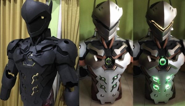 The Rpf On Twitter   Genji From Overwatch By Zainal Naru (zainaru