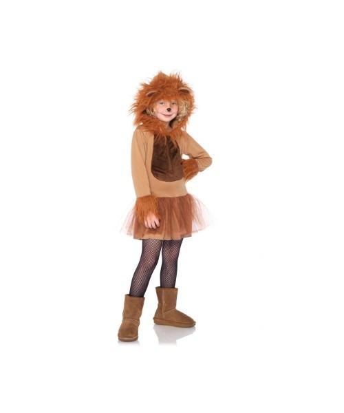Cuddly Lion Toddler Girls Costume