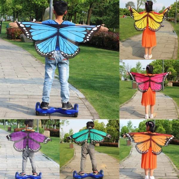 2019 Cute Interesting Girls Boys Kids Fairy Wings Butterfly Fancy