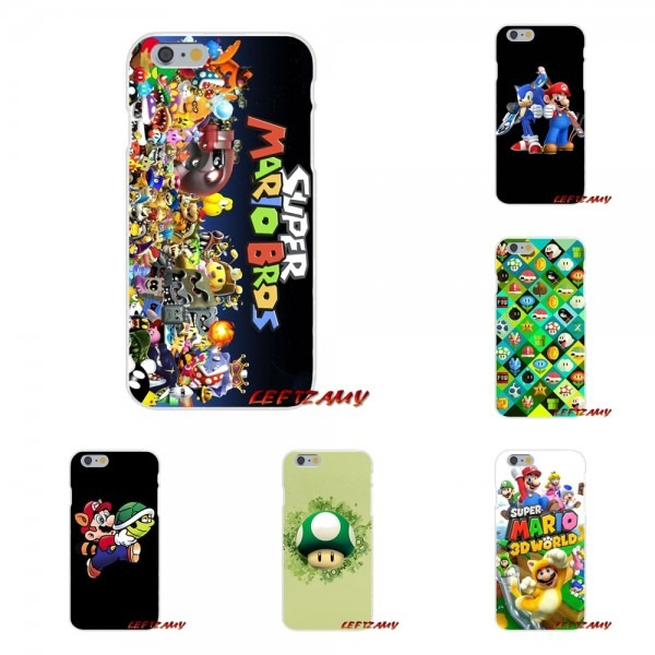 Cute Super Mario Bros Accessories Phone Cases Covers For Iphone X
