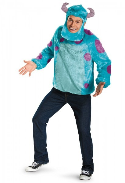 Monsters University Sulley Deluxe Adult Costume From Buycostumes