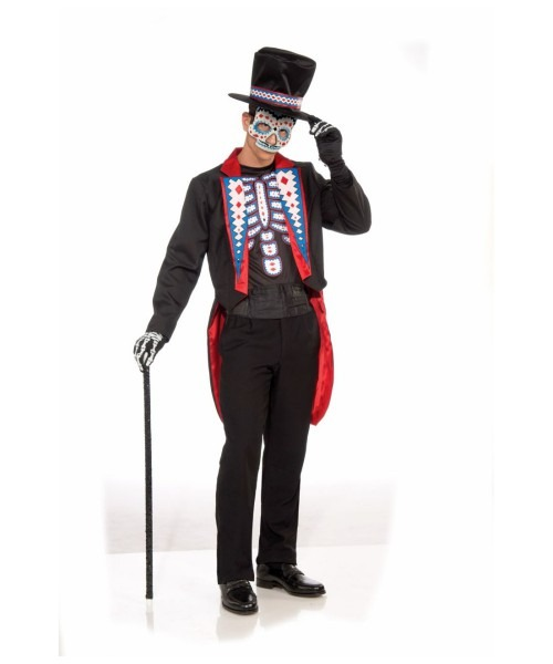 Zombie Day Of The Dead Halloween Adult Costume