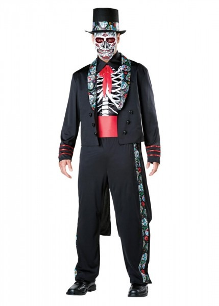 Day Of The Dead Caballero Mens Costume