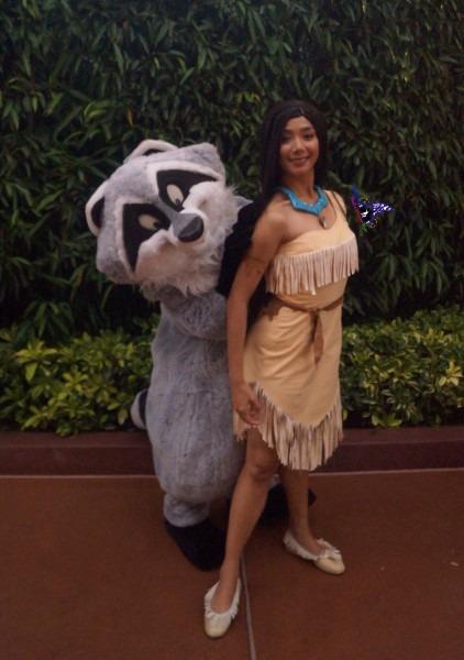 Pocahontas Meeko Costume & Rg Costumes Womenu0027s Pocahontas