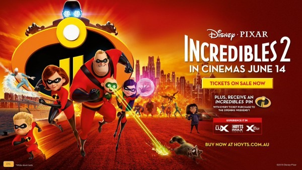 Hoytsaustralia On Twitter    Happydays! The Incredibles 2 Is Now