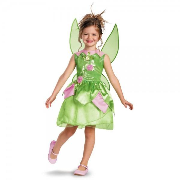 Kids Tinker Bell Girls Disney Costume