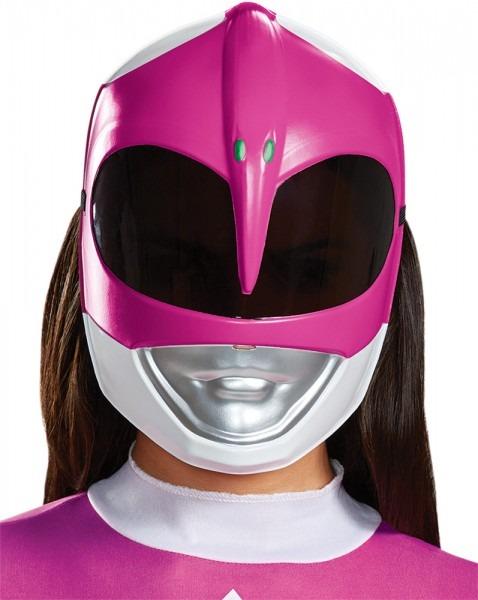 Adult Mighty Morphin Power Rangers Pink Ranger Mask Halloween