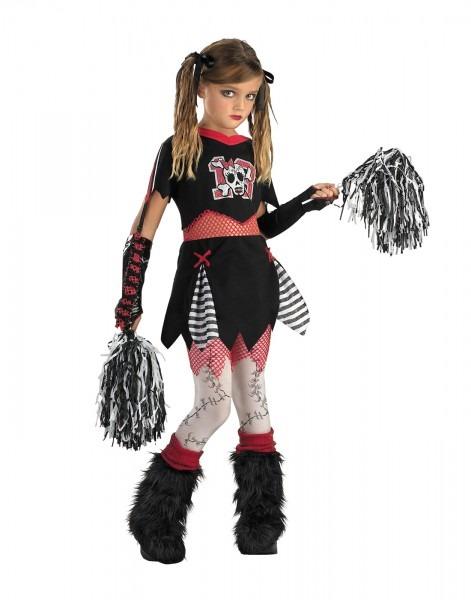 Cheerless Leader Girls Zombie Gothic Monster High Kids Halloween