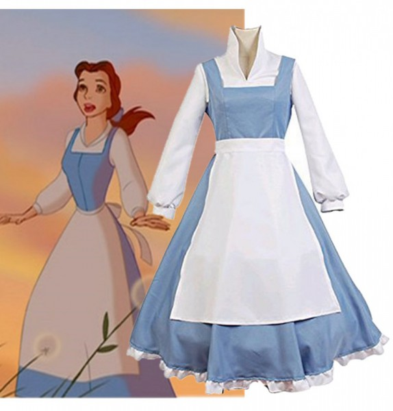 Pictures Of Beauty And The Beast Belle Blue Dress Disney