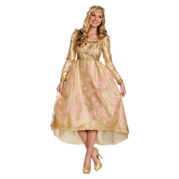 Disney Maleficent Aurora Coronation Gown Costume