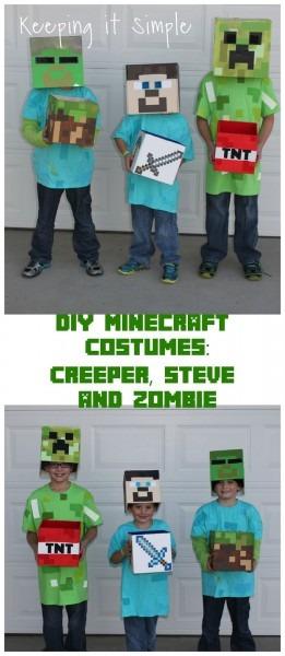 Diy Minecraft Costumes