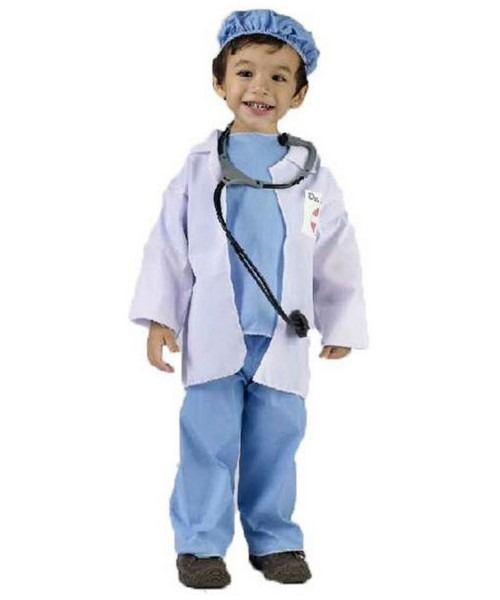 Kids Doctor Er Costume