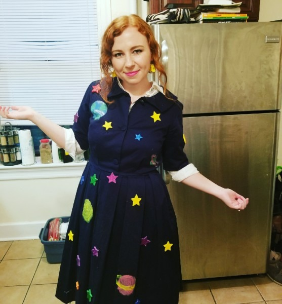My Wife's Miss Frizzle Costume This Year   Pics