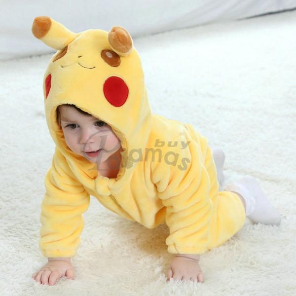 Pokemon Pikachu Baby Infant Toddler Halloween Animal Onesies