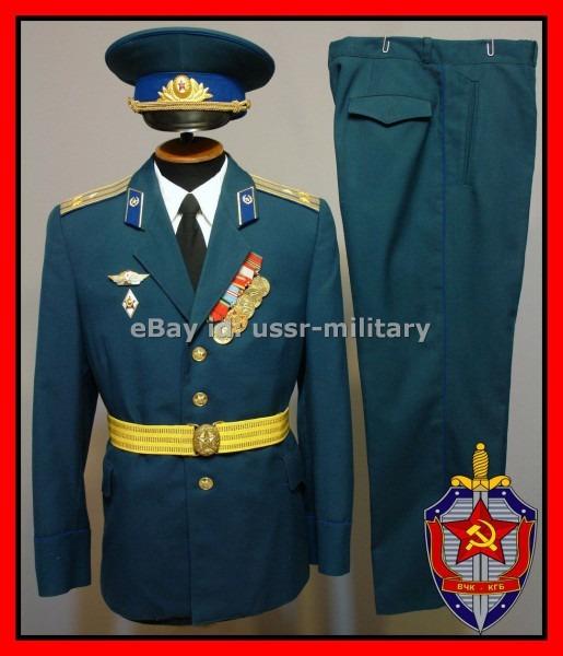 Kgb Dress Officer's Uniform Parade Uniform