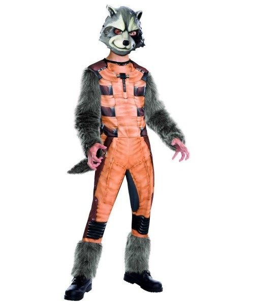 Rocket Raccoon Boy's Costume