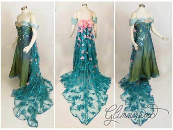 Elsa The Snow Queen Images Elsa's Spring Dress Cosplay From Frozen