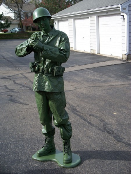Make A Toy Soldier Halloween Costume For Less Than $50 (or Cheaper