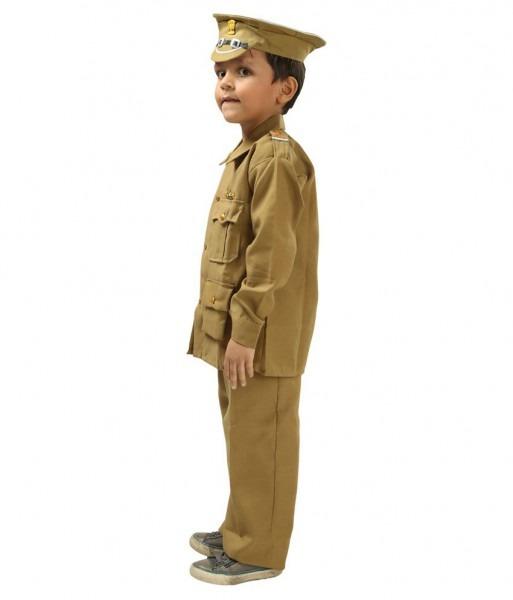 Fancydresswale Kids Police Officer Dress For Fancydress