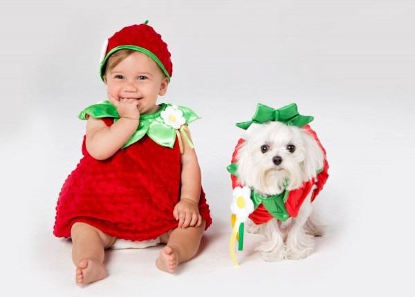 Cute Baby And Dog Halloween Costume Ideas