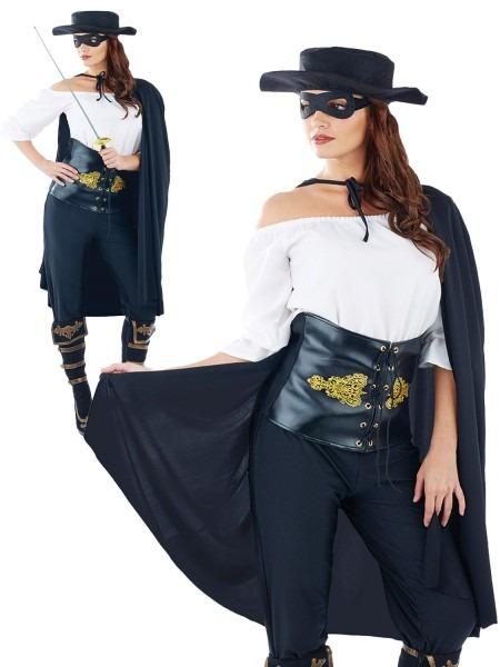 Female Zorro Costumes & Transform Yourself Into A Female Zorro