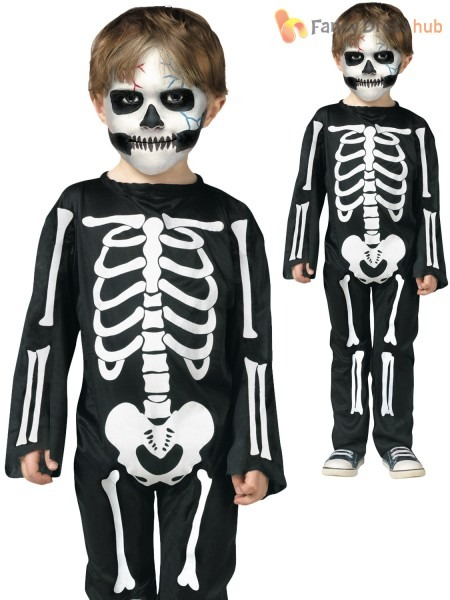 Skeleton Pajamas Make A Perfect Toddler Halloween Costume  Lil