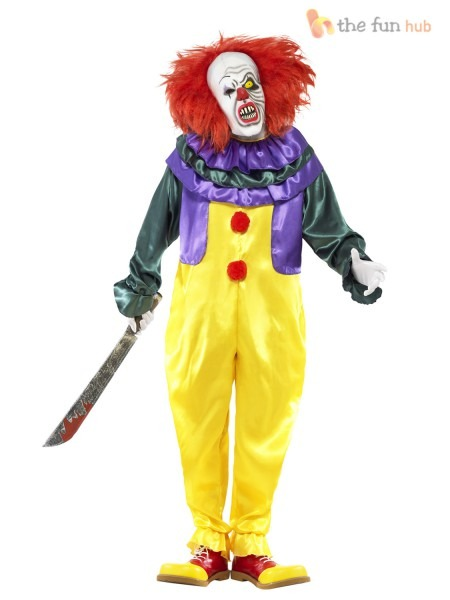 Evil Clown Halloween Costume &  Picture 2 Of 4  Sc 1 St Ebay