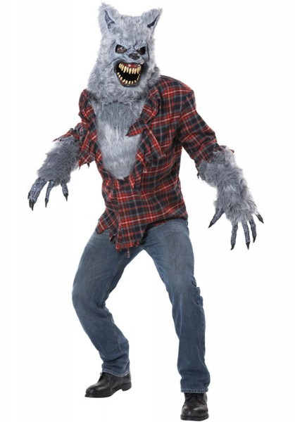 Adult Grey Lycan Costume