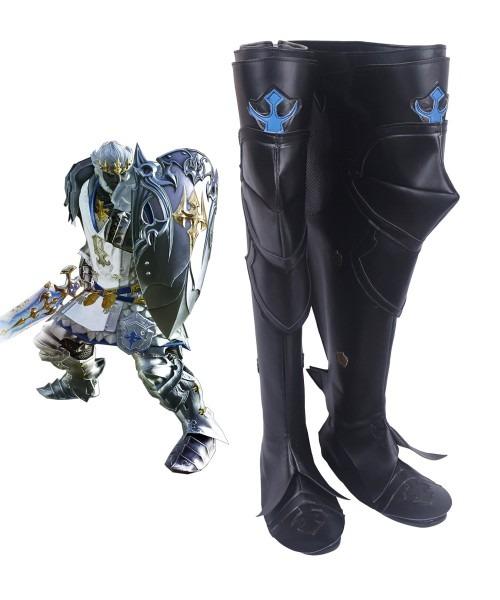 Final Fantasy Xiv Ff14 Dark Knight Paladin Cosplay Boots Shoes