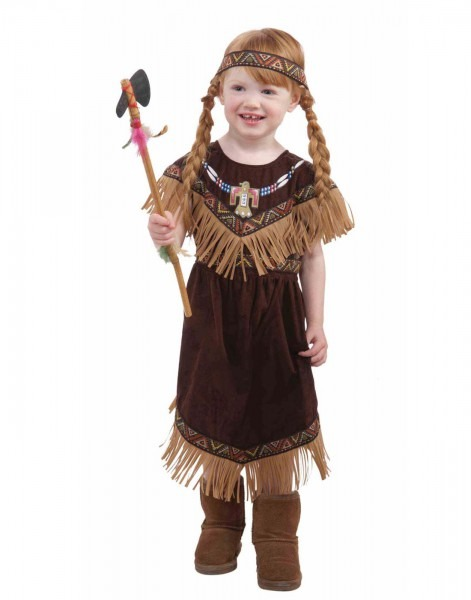 Lil Princess Girls Toddler Native American Indian Costume