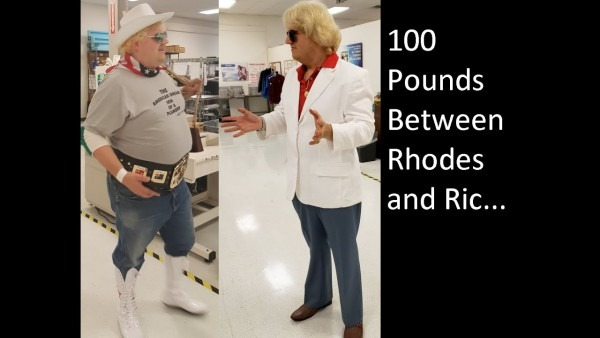 From Dusty Rhodes To Ric Flair, My Weight Loss Illustrated In Pro